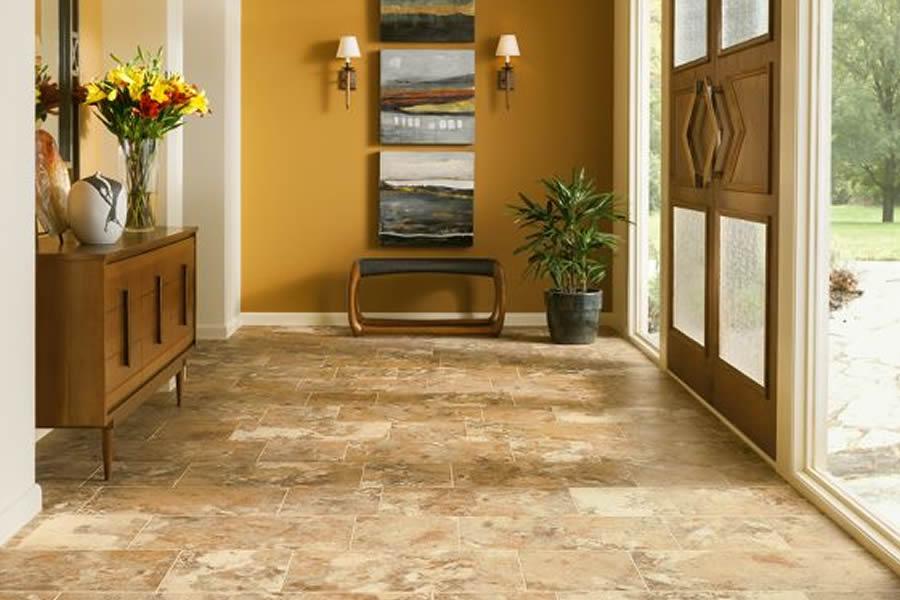 Armstrong vinyl stone flooring company great american for Great american flooring