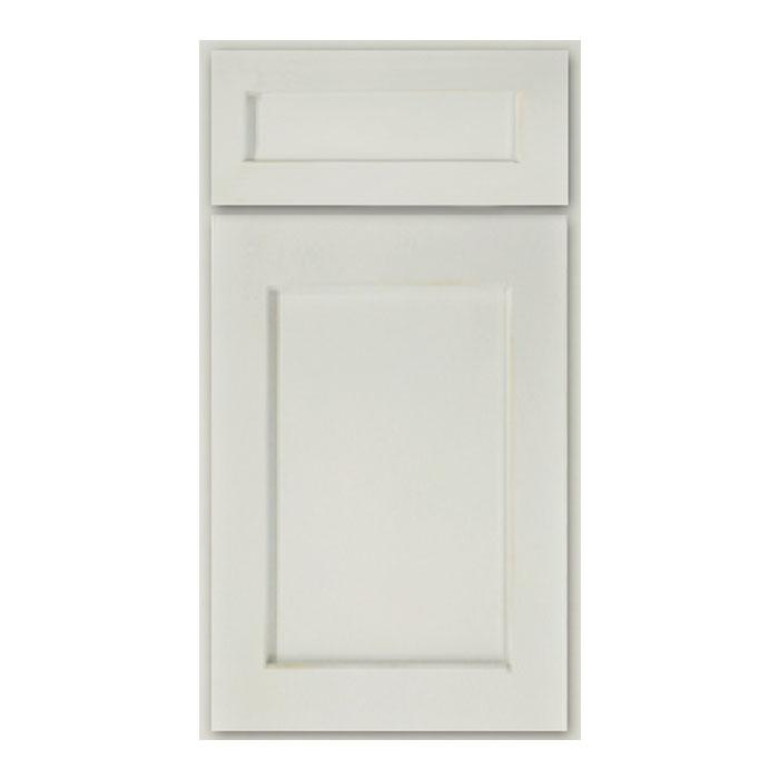 Walnut Ridge Cabinetry Shaker White Kitchen Cabinet Door